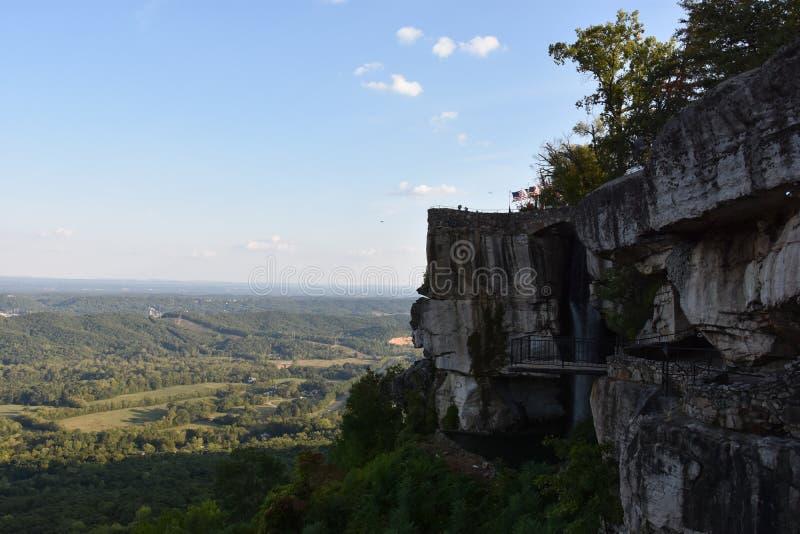 Kochanka ` s skok przy Rockowymi miasto ogródami w Chattanooga, Tennessee zdjęcia stock
