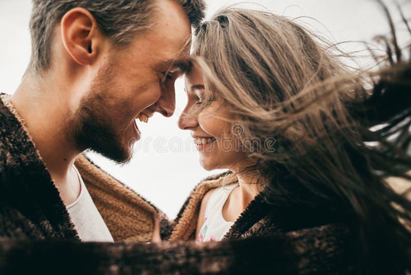 kochankowie szczęśliwi fotografia stock