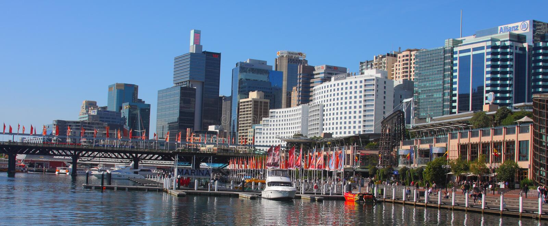 kochany schronienia Sydney widok fotografia royalty free