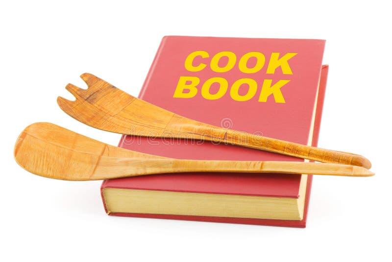 Kochbuch und Küchenbedarf lizenzfreie stockfotografie