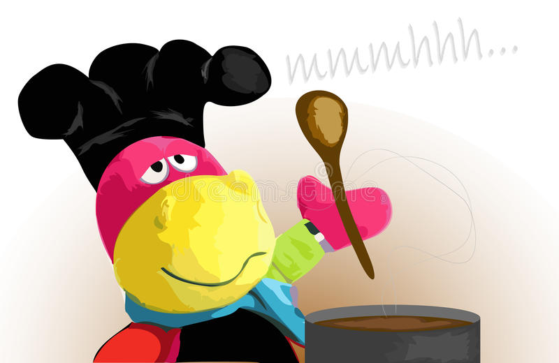 Kochen stockbild
