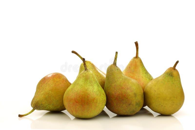 Kochen der Birnen   stockbild