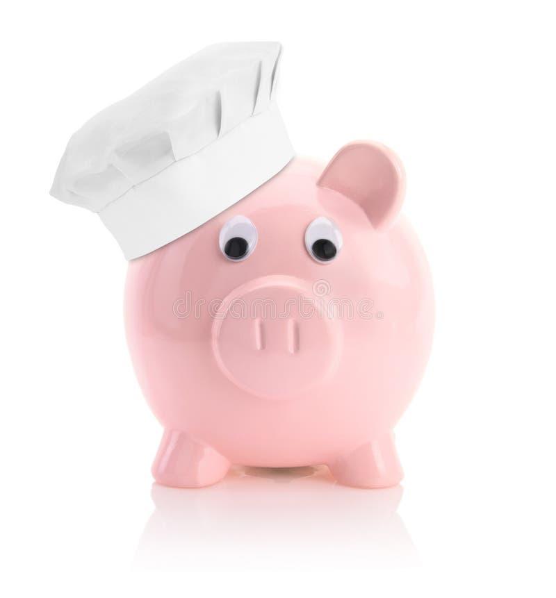 Kochen von Wirtschaft stockbild