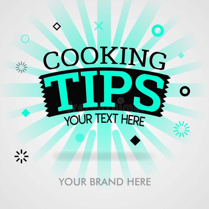 Kochend Spitzen Deckblatt amerikanische kochende Reisen chinesischer Teller, der Spitzen kocht kann für Förderung, Werbung, Marke vektor abbildung