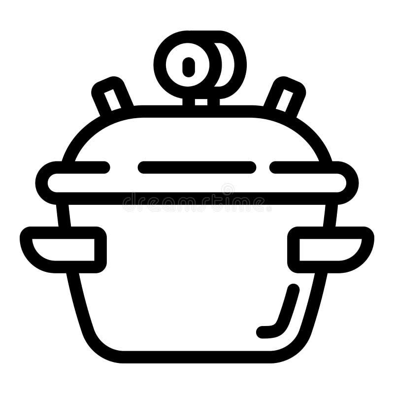 Kocherikone, Entwurfsart vektor abbildung
