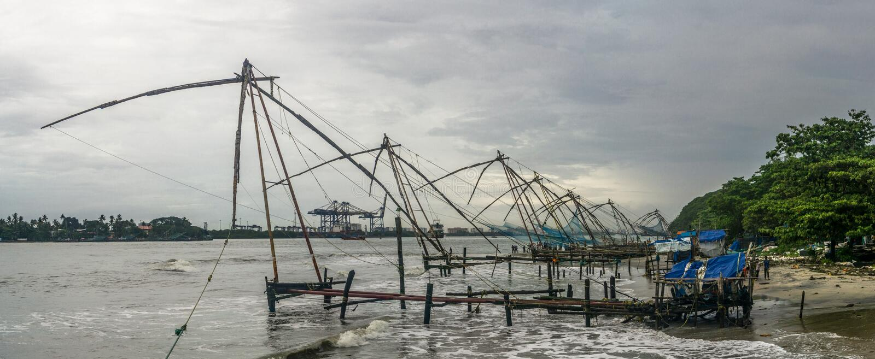 Kochi, India stock foto's