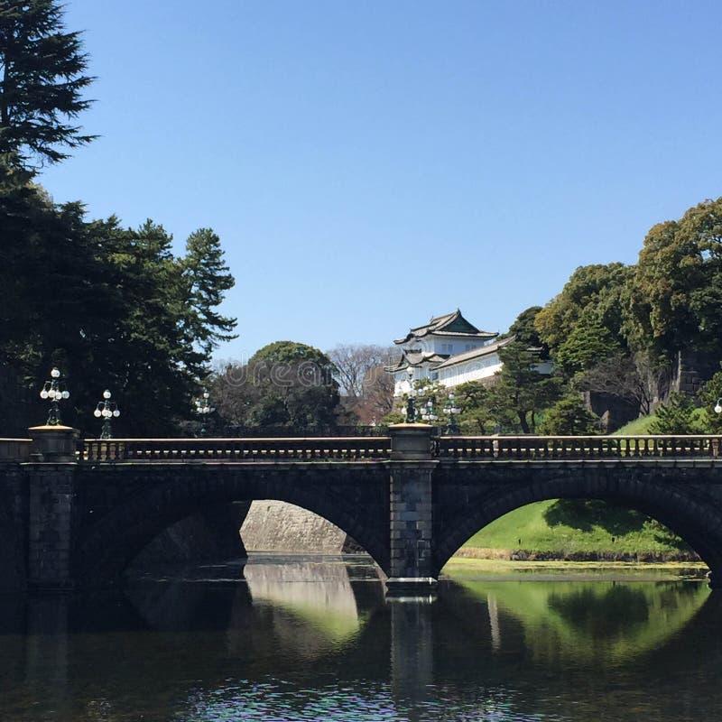 Kochi, Japan - Maart 26, 2015: Algemene mening van Kochi-Kasteel binnen royalty-vrije stock fotografie