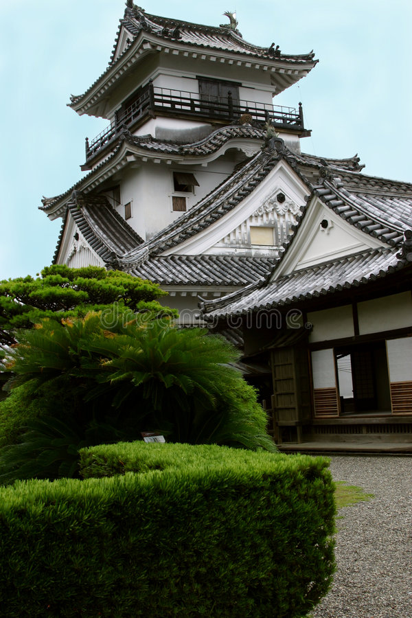 Kochi-Schloss stockbild