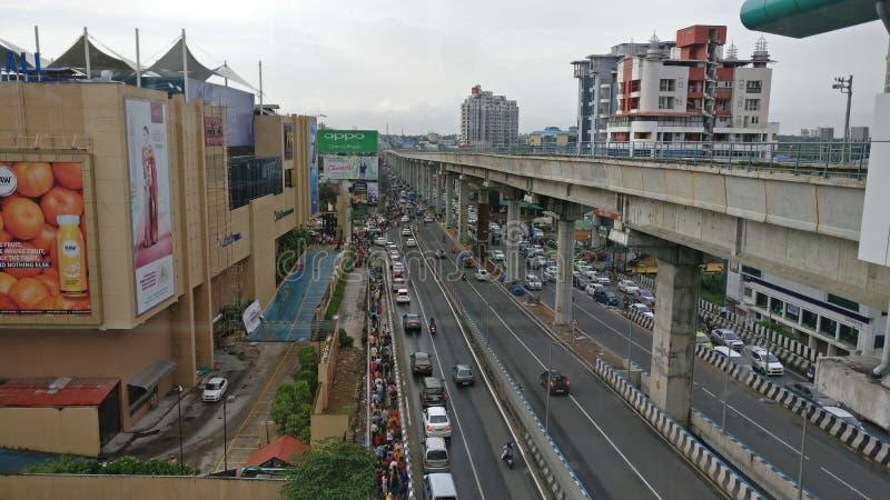 Kochi-Stadt stockfotos