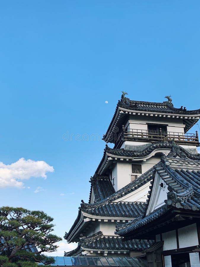Kochikasteel in Kochi-Prefectuur, Japan royalty-vrije stock afbeeldingen