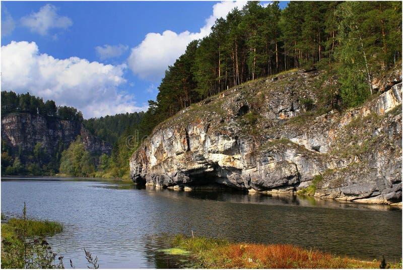 Kochkarinskaya skała zdjęcie stock