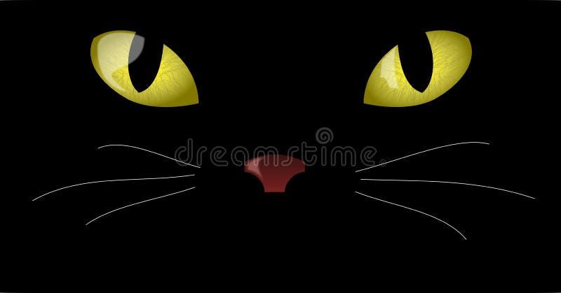 kocich oczu ilustracja wektor