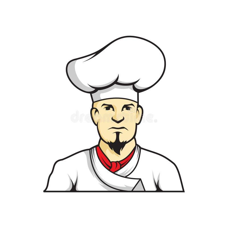 Kock på kök, eps royaltyfri fotografi