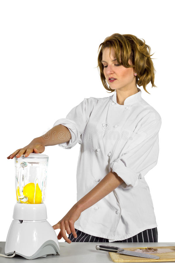 kockkvinnlig fotografering för bildbyråer