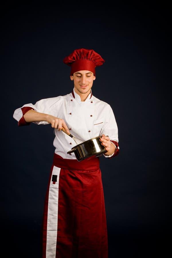 kockmatlagning arkivfoto
