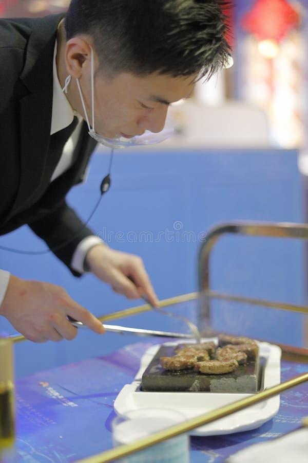 Kockmatlagningnötkött, Adobe rgb royaltyfri fotografi