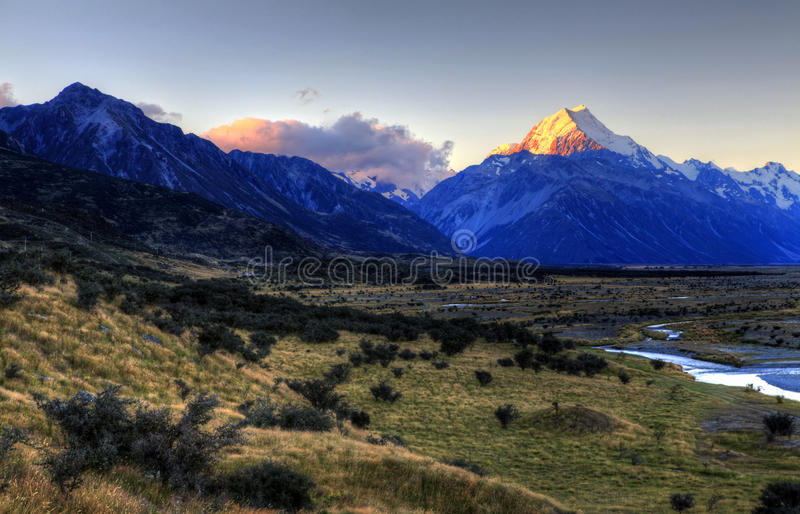 kockmontering New Zealand royaltyfria bilder