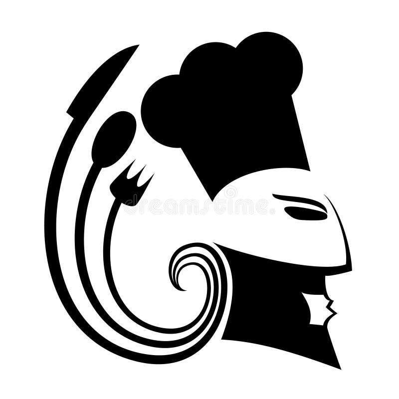 kocksyle royaltyfri illustrationer
