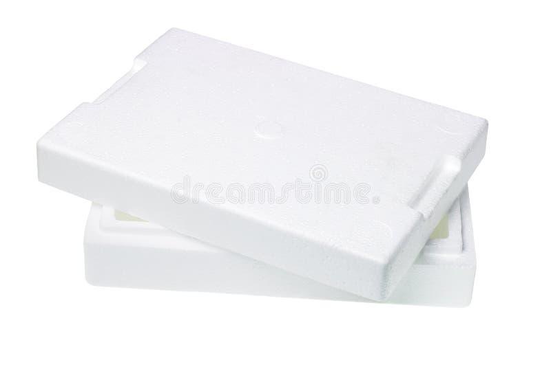 kocowania pudełkowaty styrofoam zdjęcie royalty free