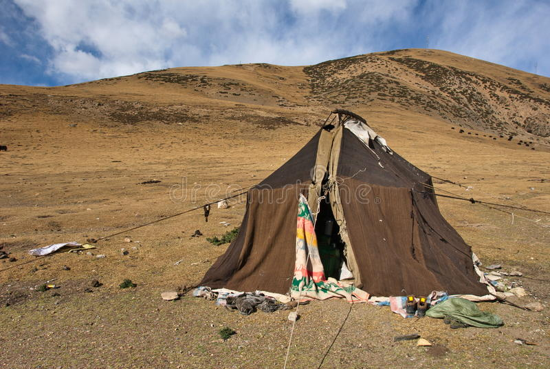 Koczownika namiot obrazy royalty free