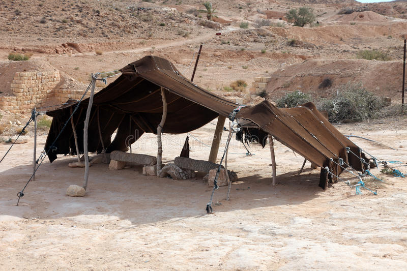 Koczownika namiot obraz royalty free