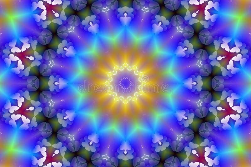 kod binarnego podobieństwo kalejdoskopu akcje ilustracja wektor