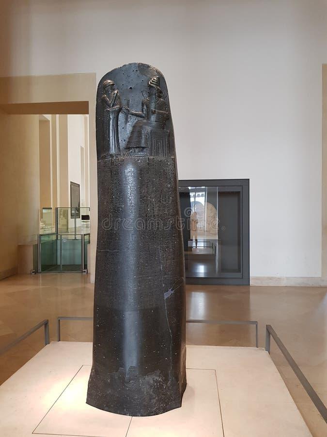 Kod Hammurabi zdjęcia stock