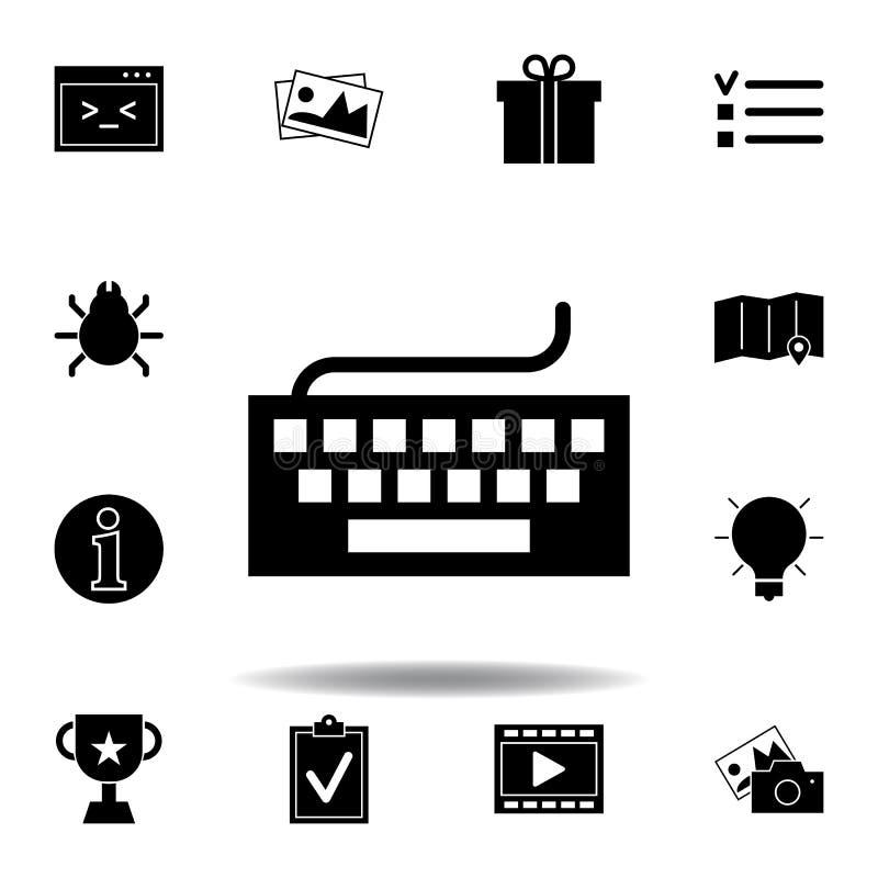 Kod, pismo, Unix ikona Znaki i symbole mog? u?ywa? dla sieci, logo, mobilny app, UI, UX ilustracji