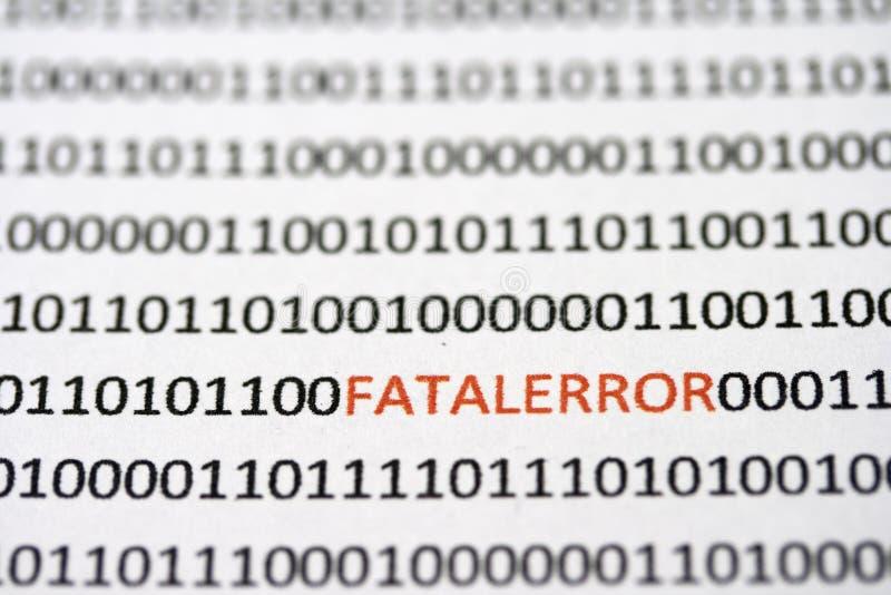 kodad dolt dödligt för fel arkivfoto