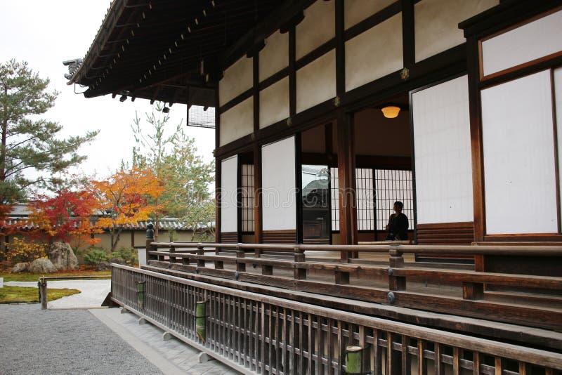 Kodai ji寺庙的风景在京都 免版税图库摄影