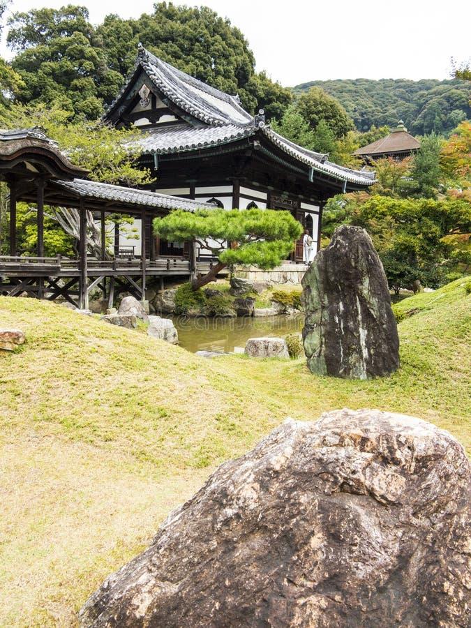 Kodaiji寺庙庭院 图库摄影