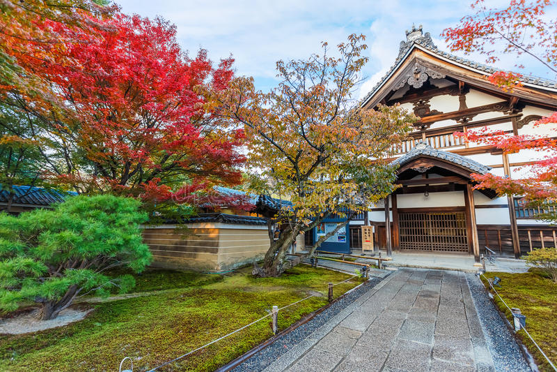 Kodaijitempel in Kyoto royalty-vrije stock afbeeldingen