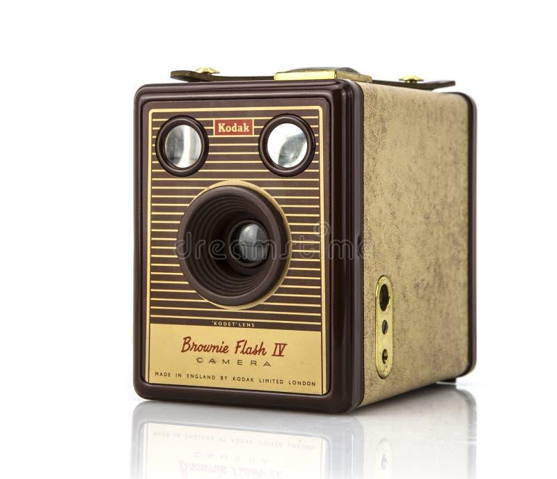 Kodak-de Camera van de Brownieflits royalty-vrije stock foto