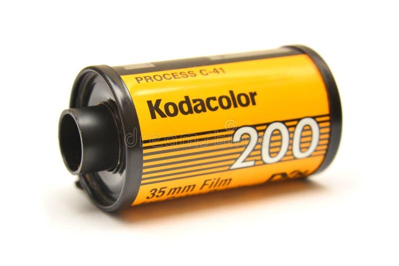 Kodak film roll royalty free stock photos