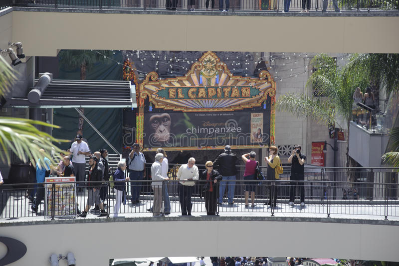 Kodak Theater In California Editorial Stock Photo
