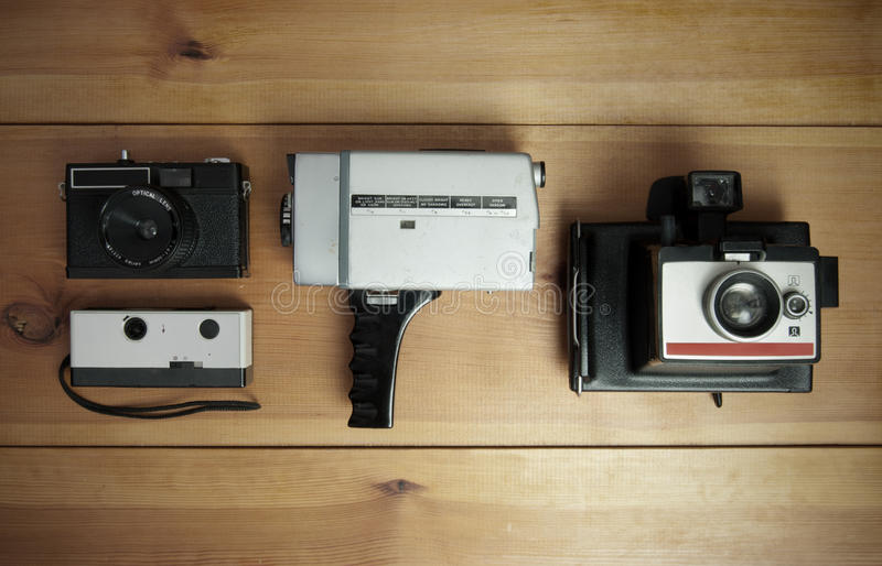 Kodaka punktu kamera obrazy stock