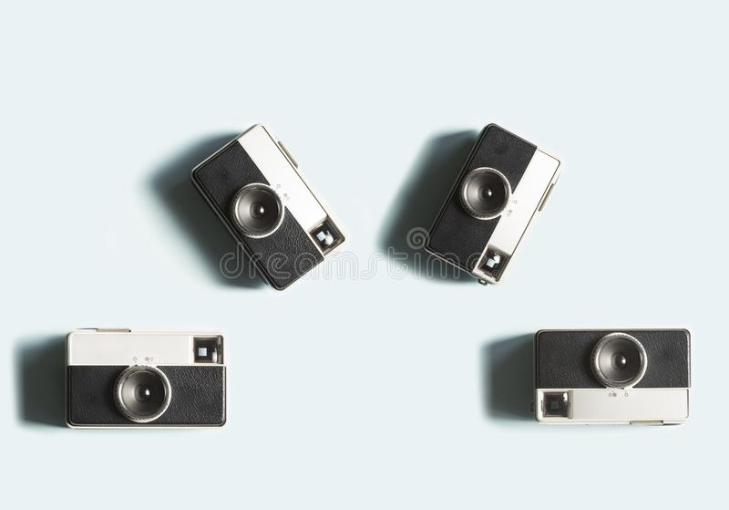 Kodaka punktu kamera fotografia stock