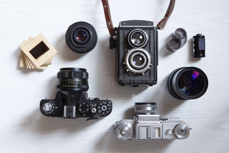 Kodaka punktu kamera zdjęcie royalty free