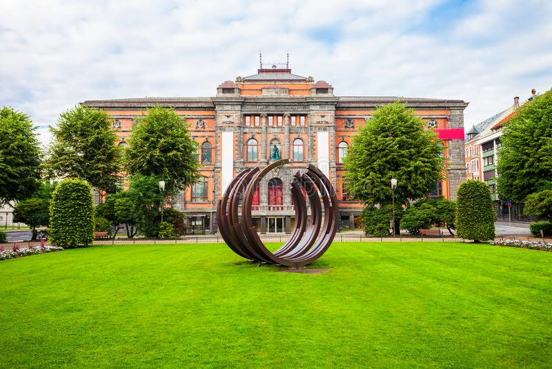 Kode Art Museum, Bergen stockfotografie