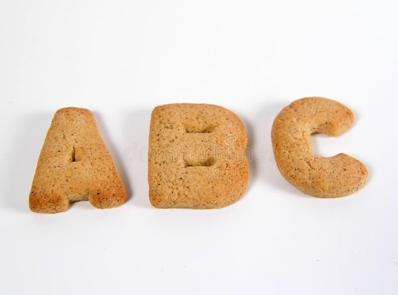 Download Koekjes ABC stock afbeelding. Afbeelding bestaande uit koekjes - 32425