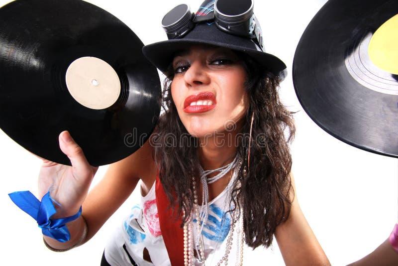 Koel DJ royalty-vrije stock afbeeldingen