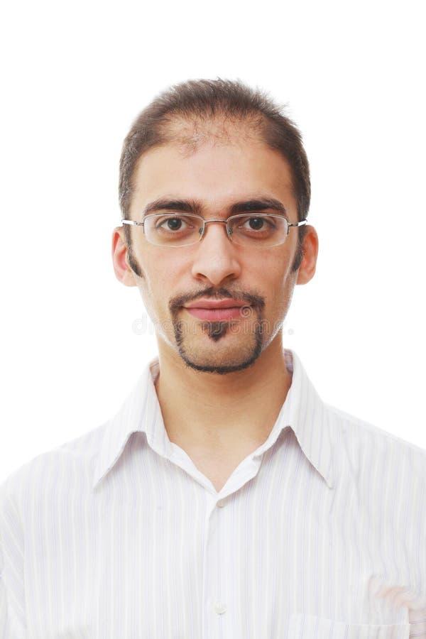 Koel mannelijk portret royalty-vrije stock afbeelding