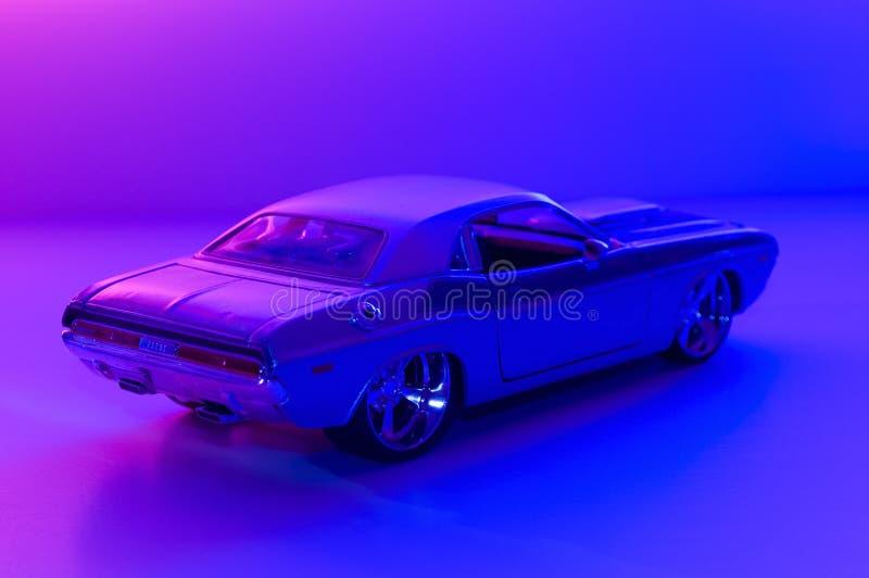 Koele auto royalty-vrije stock foto's