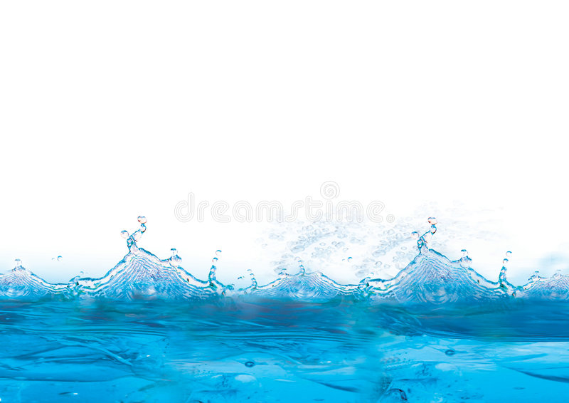 Koele blauwe en ijzige achtergrond vector illustratie