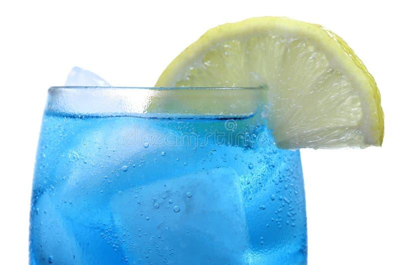 Koele blauwe ijsbergdrank royalty-vrije stock afbeeldingen