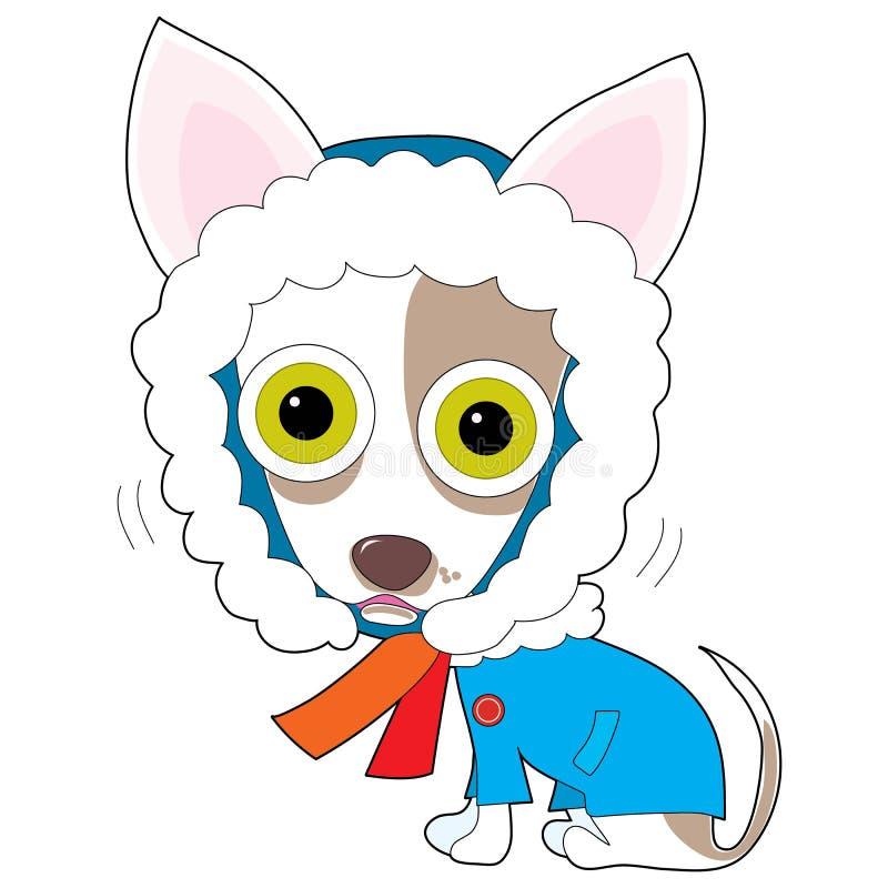 Koele Chihuahua stock illustratie