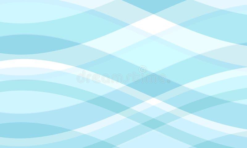 Download Koele golven vector illustratie. Illustratie bestaande uit bloemen - 282700