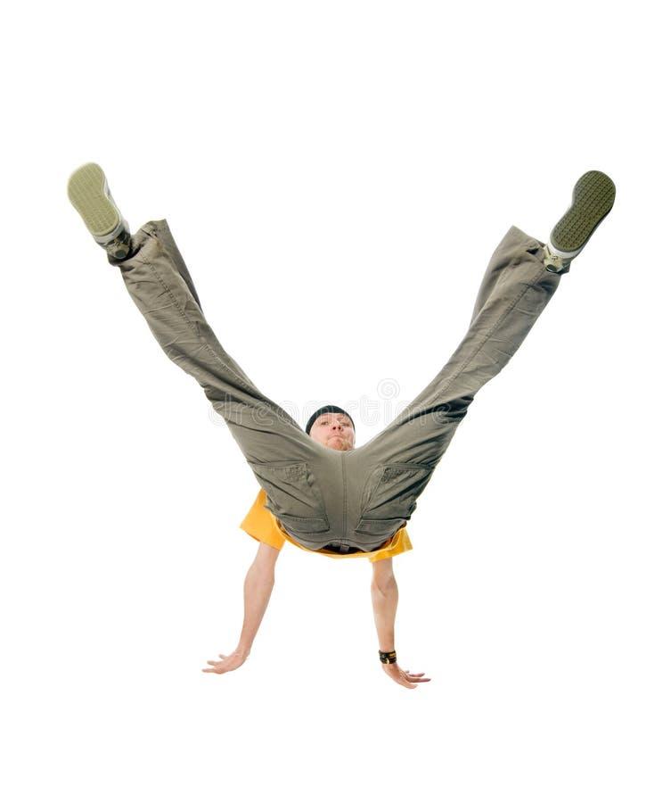 Koele heup-hop jonge mens stock fotografie