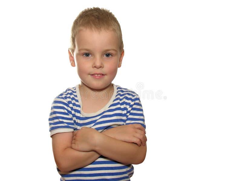 Koele jongen stock fotografie