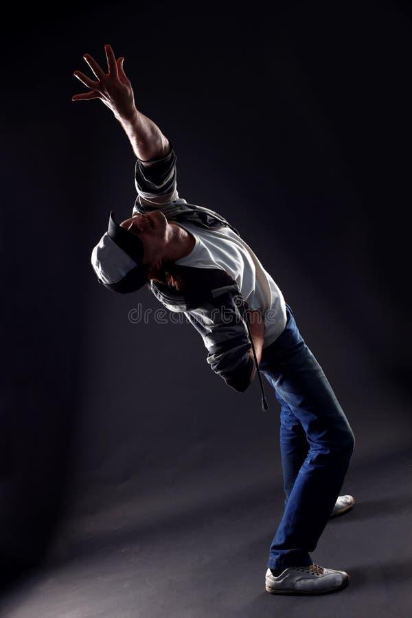 Koele mensen moderne danser stock foto's